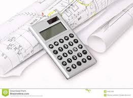 Building Plans Images Calculator Building Plans Stock Photo Image 43972758