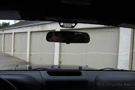 jeep wrangler blind spot mirror 2012 jeep wrangler term road test miscellaneous