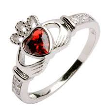 s day birthstone rings silver claddagh birthstone ring silver claddagh rings