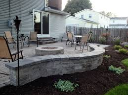 how to build a patio wall with pavers home outdoor decoration