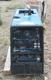 miller bobcat 225nt welder generator item dd9365 sold m