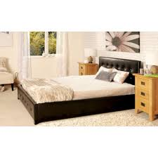 Upholstered Ottoman Storage Bed by Sorrento Faux Leather Upholstered Storage Ottoman U0026 Mattress Set