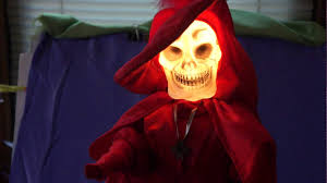 animatronic halloween prop red death motionette phantom of the