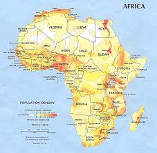 the map of africa africa river basin map africa mappery