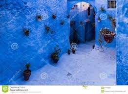 Morocco Blue City by Chefchaouen The Blue City Of Morocco Stock Photo Image 93456232