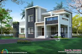 2276 sq ft 3 bedroom modern box style architecture kerala home