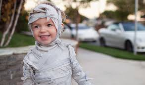 Kids Mummy Halloween Costume Diy Halloween Costumes Sheets Parachute Blog