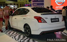 nissan almera rear bumper price nissan almera nismo reviews prices ratings with various photos