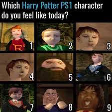 Harrypotter Meme - dopl3r com memes which harry potter ps1 character do you feel