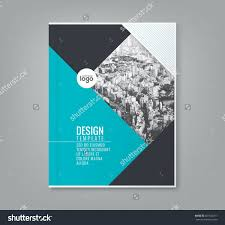free book cover designs templates minimal simple blue color design template background for business