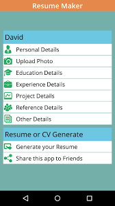 Resume Maker On The Go Instant Resume Cv Maker Free Android Apps On Google Play