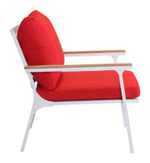 Beach Armchair Maya Beach Armchair By Zuo Modern Modern Outdoor Armchair Cressina