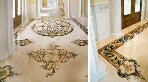 luxury handcrafted marble floors marble medallions luxury stone