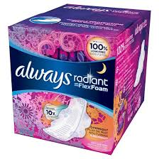 Most Comfortable Maxi Pads Maxi Pads Feminine Products Personal Care Target
