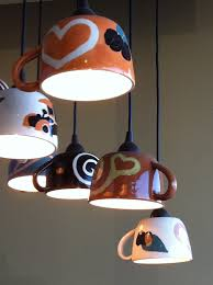 coffee lamps in coffee n cream dallas texas would be cute for