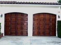 How To Stain Mohagany Doors Youtube by Garage Doors Rich Mahogany Gel Stain Wood Finish Youtube Diy