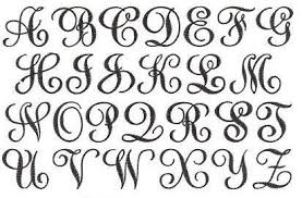 monogrammed fonts monogramming now available