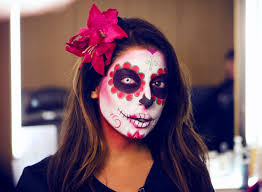 halloween corpse bride makeup mexican sugar skull makeup tutorial mtv fora youtube