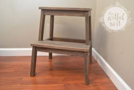 ikea step stool rroom me 17 coolest and easiest diy ikea stool hacks shelterness