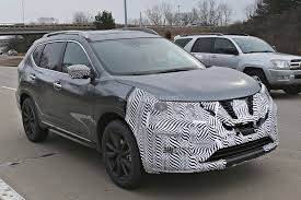 green nissan rogue 2017 nissan rogue spied with cosmetic updates autoevolution