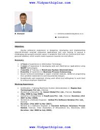 Resume Samples For Lecturer In Computer Science by M Phil Computer Science Resume Format And Sample