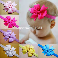 ribbon hair bands hair bow headband diy satin ribbon big bow elastic headband hair