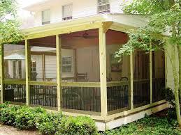 put it diy screen porch