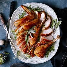 grilling thanksgiving turkey grilled butterflied turkey recipe myrecipes