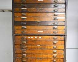 Antique Wood File Cabinet Antique File Cabinet Etsy