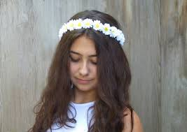 white flower headband white flower crown headband floral crown