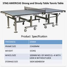 nice table tennis table size and specifications khelmart com