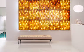 backlit marble wall tiles sirio lithos design