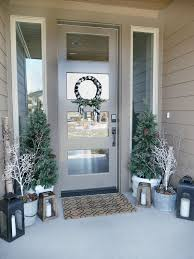 Front Door Decorations For Winter - best 25 winter porch decorations ideas on pinterest winter