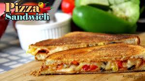 pizza sandwich recipe easy sandwich recipes quick breakfast