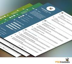 Graphic Designer Resume Graphic Designer Resume Template Psd Psdfreebies Com