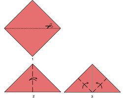 how to make a origami ladybug step step instructions how to make