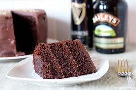 chocolate stout cake with baileys irish cream chocolate ganache