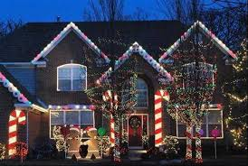 Christmas Decorations Pathway Lights by Fantastic Ideas For Using Rope Lights For Christmas Decoration