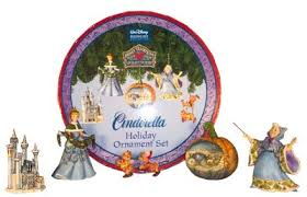 sale jim shore disney traditions cinderella ornament set