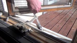 how to replace the operator in a pella casement window youtube
