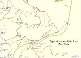 Seattle Bike Map by Mountain Biking On Tiger Mountain Near Seattle Wa