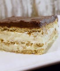 chocolate eclair dessert my country table