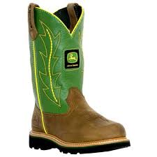 womens boots green s deere 9 wellington boots with green shaft 165410