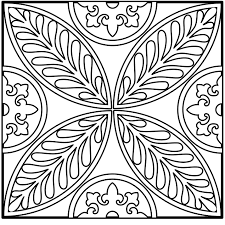 Intricate Design Coloring Pages Many Interesting Cliparts Free Intricate Coloring Pages