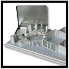 architectural model kits model kits with magnetic scale model furniture and walls