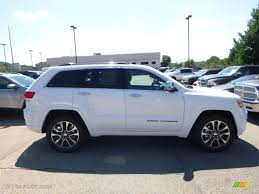 white jeep cherokee 2017 2017 bright white jeep grand cherokee overland 4x4 115370625
