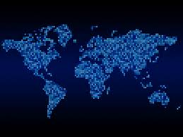 Global Map Of The World by Futuristic Map Of The World Google Search 2d Graphic Style