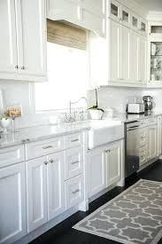 White Kitchen Cabinets With Black Hardware Knobs On Kitchen Cabinets Nxte Club