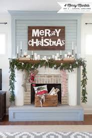 3 Stylish Mantel Displays Sainsbury 25 Unique Christmas Fireplace Decorations Ideas On Pinterest