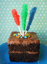 how to make rock candy cake decoration that rocks